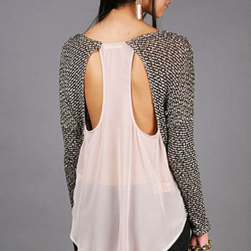 Fiber Knit Sweater  | Trendy Knits at Pink Ice