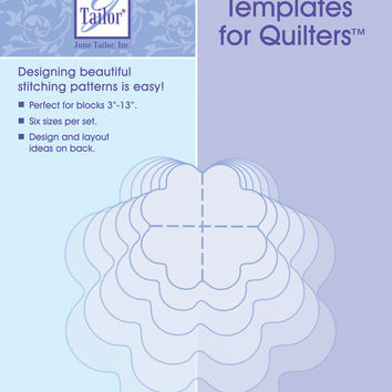 mix'n match templates for quilters 6/pkg-flower