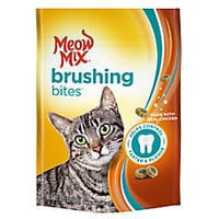 Meow Mix® Brushing Bites Dental Cat Treat - Chicken