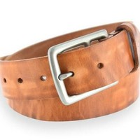 BEEKEEPER NICKEL MATTE BUCKLE BELT