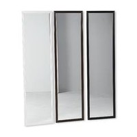 Full-Length Door Mirror - Black