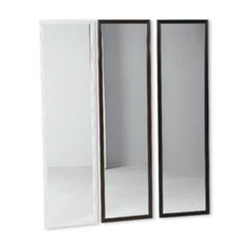 Full-Length Door Mirror - Black - Kmart