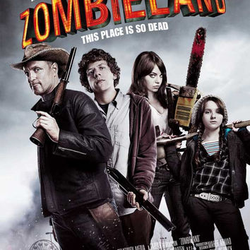 Zombieland (UK) 27x40 Movie Poster (2009)