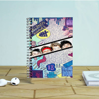 5 Seconds Of Summer Drawing Photo Notebook Auroid