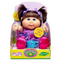 Cabbage Patch Kids Tea Party Toddler, Brunette, ... : Target