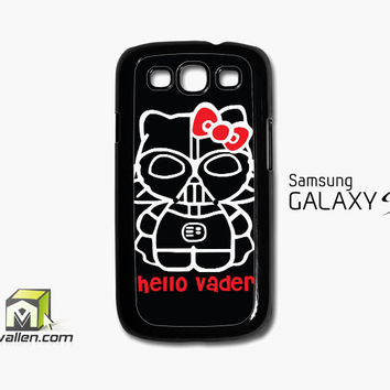 Hello Darth Vader Samsung Galaxy S3 Case Cover by Avallen