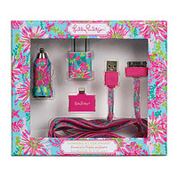 Lilly Pulitzer Trippin & Sippin Charging Kit - Trippin & Sippin