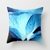 night flower  Throw Pillow by Marianna Tankelevich | Society6