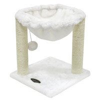 CUPETS Multi-Level Pet Play House Condo Furniture Scratching Post Cat Tree Scratcher Cat Climber /Cat House / Cat Condo 3-Beige Style E '