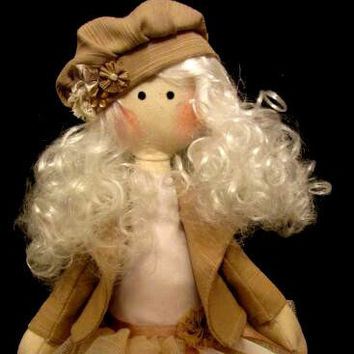 Tilda Doll,for her,interior doll,artdoll,Christmas gift,34cm,fabric doll