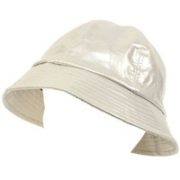 Rain Bucket Hat Cap Waterproof Packable Adjustable Silver $19.95