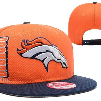 auguau Denver Broncos 9FIFTY NFL Football Cap Orange