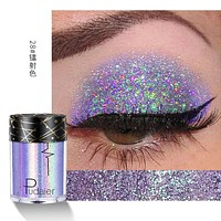 Holographic Laser Eyeshadow Loose Powder Festival Glitter Eye Shadow Face Hair Lips Makeup Pigment Shimmer Metallic Tattoo Tints