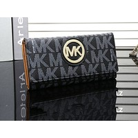 MK Hot Printed Lady's Small Wallet Fashion Handbag