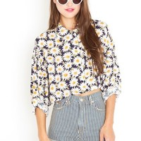 Daisy Chain Crop Blouse