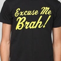 Excuse Me Brah Tee - Urban Outfitters