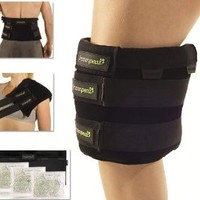 FrozenPeaz Reusable Heat/Ice Wrap - Large Joint (Knee, Back, Shoulder)