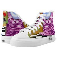 Alice in Wonderland Printed Shoes