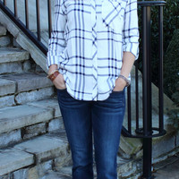 Ever So Gentle Button Top