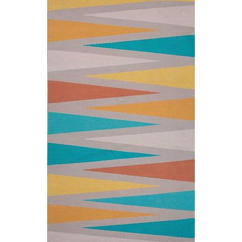Jaipur Traditions Made Modern Cotton Shards Area Rug