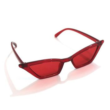 Red Retro Sunnies