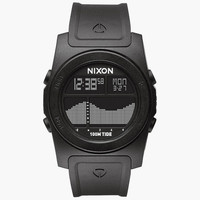 Nixon The Rhythm Watch All Black One Size For Men 25718117801