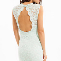 Space Lace Dress $35