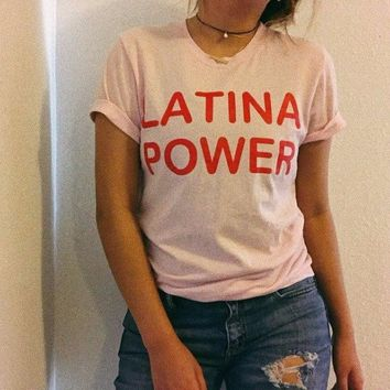 LATINA POWER Tshirt