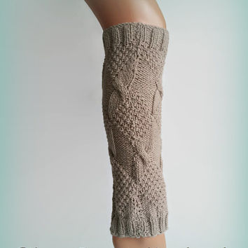 Brown stylish leg warmers,Women's fashion accessories,boot cuffs,knee high socks,perfect gift