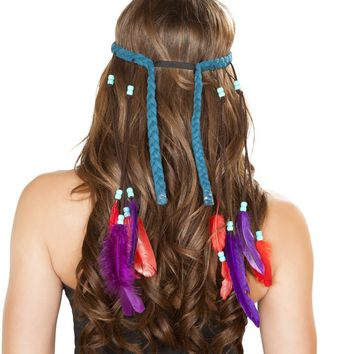 Turquoise Native American Headband