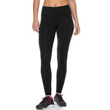 Tek Gear 1x LeggingWomens Workout Pants Active Wear, Yoga Printed Leggings, Running Tight