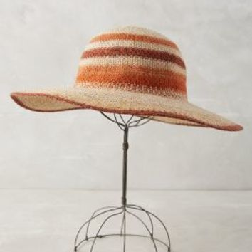 Fransen Floppy Hat by Anthropologie in Taupe Size: One Size Hats