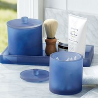 SERRA MIX AND MATCH BATH ACCESSORIES - NAVY BLUE