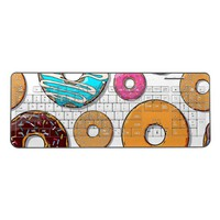 Bright Donut Whimsical Pattern Wireless Keyboard
