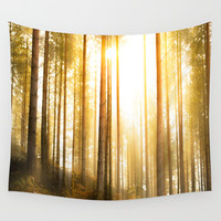 i have seen things... Wall Tapestry by HappyMelvin