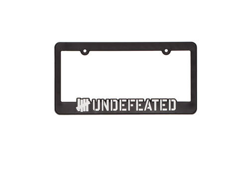 Undefeated License Plate Frame From Undefeated Epic