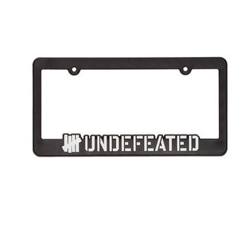 UNDEFEATED LICENSE PLATE FRAME | Undefeated