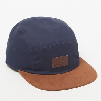 Vans Davis Camper 5 Panel Navy Hat - Mens Backpack - Navy/Brown - One