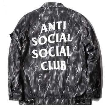 ANTI SOCIAL SOCIAL CLUB Fashion Unisex Jacket Stylish Windbreaker [9535281287]