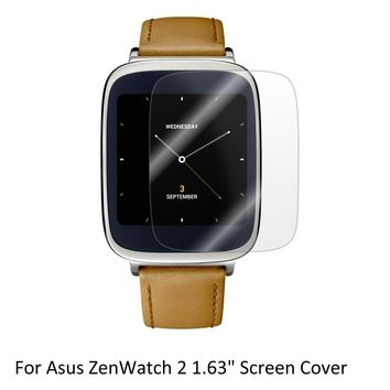 3x Clear LCD Screen Protector Guard Cover Shield Film Skin for Asus ZenWatch 2 1.63'' Sporting Smart   Watch Accessories