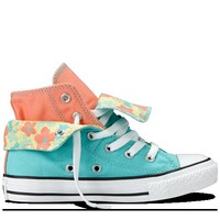 Converse - Chuck Taylor Two-Fold (4-12 yr) - Hi - Limelight/Coral