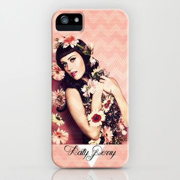 Katy Perry - for Iphone iPhone & iPod Case by Simone Morana Cyla