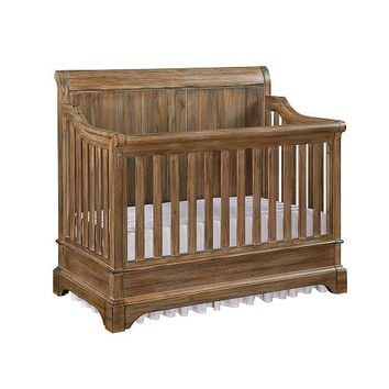 Bertini Pembrooke 4-in-1 Convertible Crib - Natural Rustic