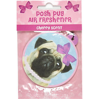 River Island Womens Posh Pug air freshener