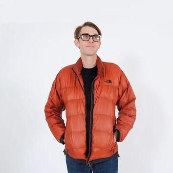 Vintage North Face Jacket . 1980s Summit Series Jacket . 80s Puffer Jacket