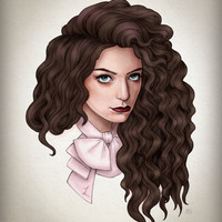 Lorde Art Print by Helen Green