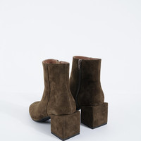 Square Heel Boots