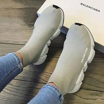 Balenciaga Woman Men Fashion Sneakers Running Shoes