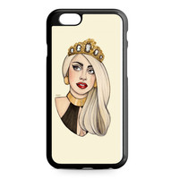 Lady Gaga Drawing Helen Green Art iPhone 6 Case