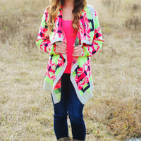 Not The Only One Cardigan: Multi